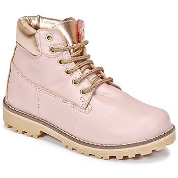 Cipők Lány Csizmák Citrouille et Compagnie HICHOU Rózsaszín