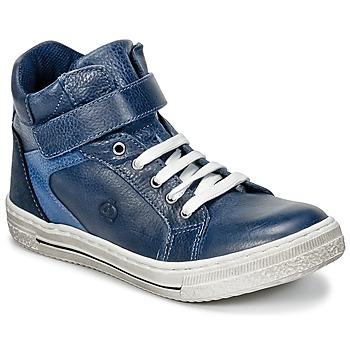 Cipők Fiú Magas szárú edzőcipők Citrouille et Compagnie HOCHOU Tengerész