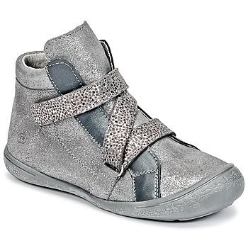 Cipők Lány Magas szárú edzőcipők Citrouille et Compagnie HISSOU Szürke