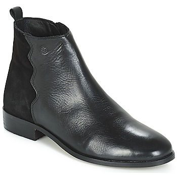 Cipők Női Csizmák Betty London HELOI Fekete