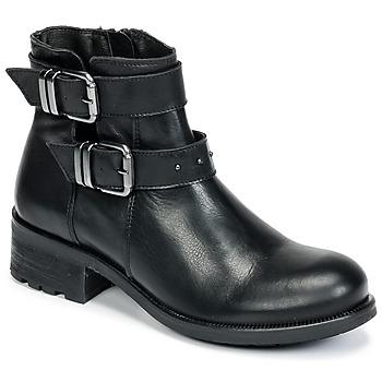 Cipők Női Bokacsizmák Betty London HELIDI Fekete