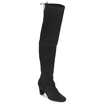 Cipők Női Combcsizmák Betty London HENNA Fekete