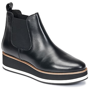 Cipők Női Csizmák Betty London HIRO Fekete