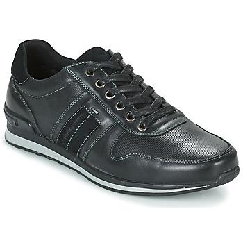 Cipők Férfi Rövid szárú edzőcipők Hush puppies PISHUP Fekete