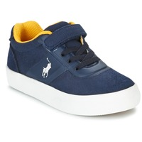 Cipők Gyerek Rövid szárú edzőcipők Ralph Lauren HANFORD HM EZ Tengerész