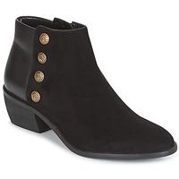 Cipők Női Bokacsizmák Dune London PANELLA Fekete