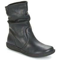 Cipők Női Csizmák Casual Attitude HAPANO Fekete