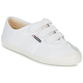 Cipők Rövid szárú edzőcipők Kawasaki BASIC VELCRO Fehér