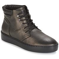 Cipők Női Magas szárú edzőcipők PLDM by Palladium TRACK DST W Fekete  / Arany
