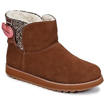 Cipők Női Csizmák Skechers KEEPSAKES Barna