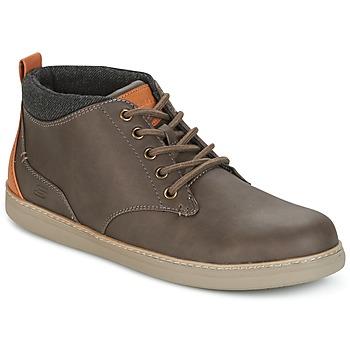Cipők Férfi Magas szárú edzőcipők Skechers MENS USA Barna