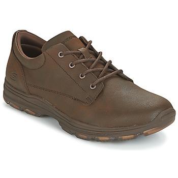 Cipők Férfi Rövid szárú edzőcipők Skechers MENS USA Barna