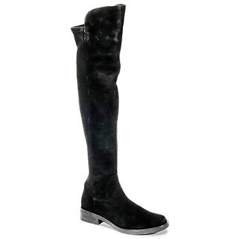 Cipők Női Combcsizmák Buffalo NUPAN Fekete