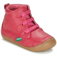 Cipők Lány Csizmák Kickers SONICE Fukszia