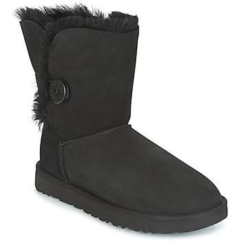 Cipők Női Csizmák UGG BAILEY BUTTON II Fekete