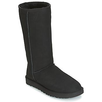 Cipők Női Városi csizmák UGG CLASSIC TALL II Fekete