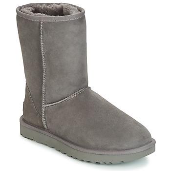 Cipők Női Csizmák UGG CLASSIC SHORT II Szürke