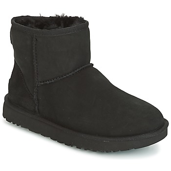 Cipők Női Csizmák UGG CLASSIC MINI II Fekete
