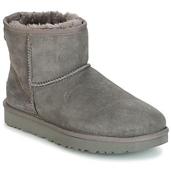 Cipők Női Csizmák UGG CLASSIC MINI II Szürke
