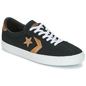 Cipők Női Rövid szárú edzőcipők Converse BREAKPOINT OX Fekete / Arany