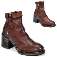 Cipők Női Bokacsizmák Moma CUSNA COPPER Barna