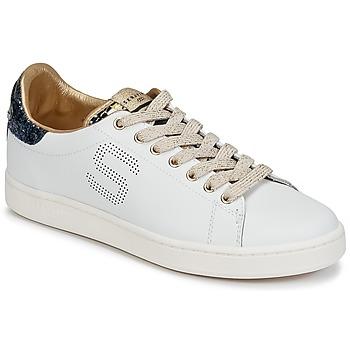 Cipők Női Rövid szárú edzőcipők Serafini J.CONNORS Fehér / Kék / Arany