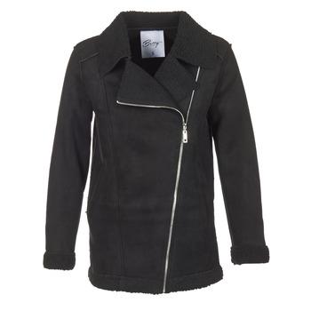 Ruhák Női Kabátok Betty London HARMI Fekete