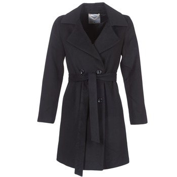 Ruhák Női Kabátok Casual Attitude HALLOA Fekete