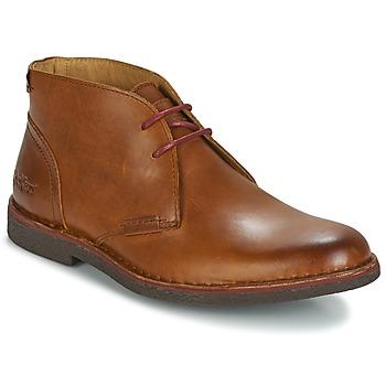 Shoes Férfi Csizmák Kickers MISTIC Teve