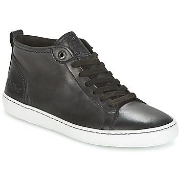 Cipők Női Rövid szárú edzőcipők Kickers REVIEW Fekete