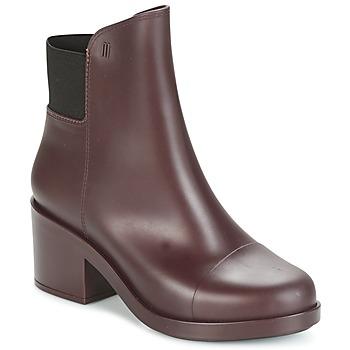 Cipők Női Bokacsizmák Melissa ELASTIC BOOTS Bordó