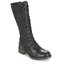 Shoes Női Városi csizmák Pataugas DOLCE Fekete