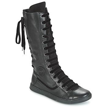 Cipők Női Városi csizmák Pataugas JINA Fekete