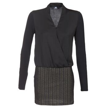Ruhák Női Rövid ruhák Le Temps des Cerises MALAYA Fekete