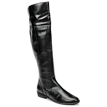 Cipők Női Combcsizmák So Size HOLA Fekete