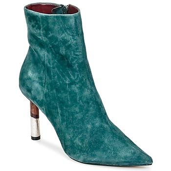 Cipők Női Bokacsizmák KG by Kurt Geiger RAINE-GREEN Zöld