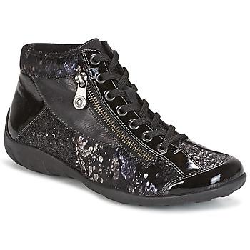 Cipők Női Magas szárú edzőcipők Remonte Dorndorf DORA Fekete