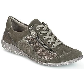 Cipők Női Rövid szárú edzőcipők Remonte Dorndorf POLINE Szürke / Gyöngyös