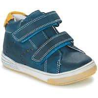 Cipők Fiú Magas szárú edzőcipők Babybotte ANTILLES Kék