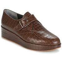 Cipők Női Oxford cipők Robert Clergerie NONKA-V.COCCO-CHOCOLAT Barna