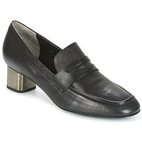 Cipők Női Belebújós cipők Robert Clergerie POVIA-AGNEAU-NOIR Fekete