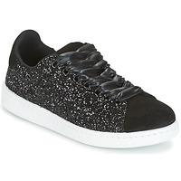 Cipők Női Rövid szárú edzőcipők Yurban HELVINE Fekete