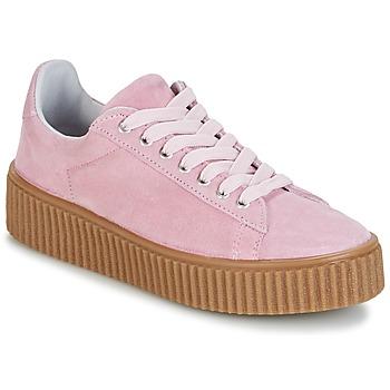 Cipők Női Rövid szárú edzőcipők Yurban HADIL Rózsaszín