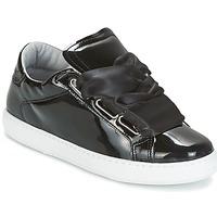 Cipők Női Rövid szárú edzőcipők Yurban HOURIX Fekete