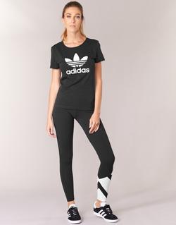 Ruhák Női Legging-ek adidas Originals EQT LEGGINGS Fekete  / Fehér