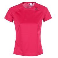 Ruhák Női Rövid ujjú pólók adidas Performance D2M TEE LOSE Rózsaszín