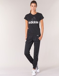 Ruhák Női Futónadrágok / Melegítők adidas Originals ESS 3S PANT CH Fekete
