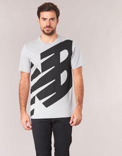 Ruhák Férfi Rövid ujjú pólók New Balance NB ESSENTIEL T Szürke