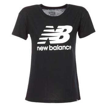Ruhák Női Rövid ujjú pólók New Balance NB LOGO T Fekete  / Fehér