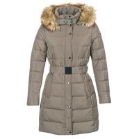Ruhák Női Steppelt kabátok Esprit ORDU Tópszínű